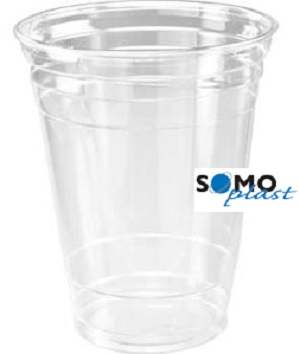 SOMOPLAST PLASTIC CLEAR CUP 500ML (16OZ) X 1000